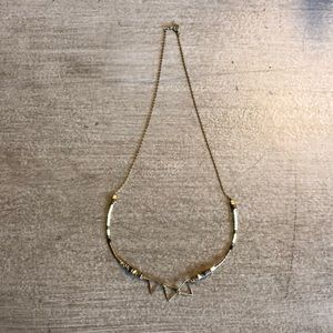 Jewelry - Gold & Green Layering Necklace
